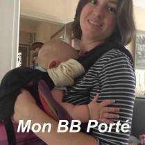 Ingrid de l'association Mon BB Porté - www.monbbporte.net