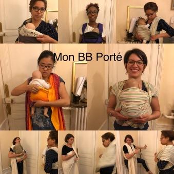 Mon BB Porté - Une partie de l'équipe